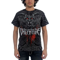 Bullet For My Valentine - Demon All Over Mens T-Shirt In Black