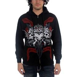 Killswitch Engage - Skull Zip Mens Hoodie In Black