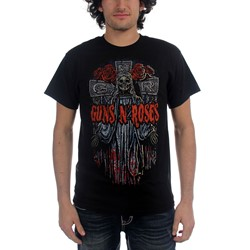 Guns N Roses- Mary Mary Mens S/S T-Shirt In Black