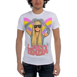Lady Gaga - Airbrush Girls Shirt Girls S/S T-Shirt In White