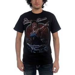 The Rolling Stones - Tour Poster Mens T-Shirt In Black