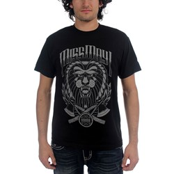 Miss May I - Mens Lion Mens T-shirt in Black