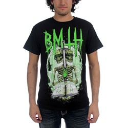Bring Me The Horizon - Double Skeleton Mens T-Shirt In Black