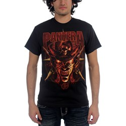 Pantera - Cowboy From Hell Mens S/S T-Shirt In Black