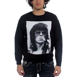Rolling Stones, The - Mens Keith Smoke Hoodie in Black
