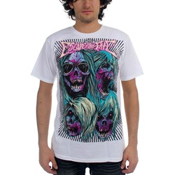 Escape The Fate - Escape Ad Mens T-Shirt In White