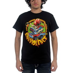 Five Finger Death Punch - Mens Sin And Violence T-Shirt