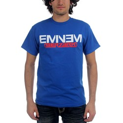 Eminem - Mens Royal Blue T With Berzerk & New Logo T-Shirt