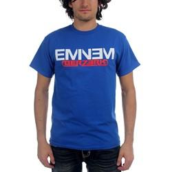 Eminem - Mens Royal Blue T With Berzerk & New Logo T-Shirt