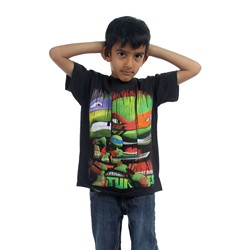 Teenage Mutant Ninja Turtles - Boys Donatello Stance T-Shirt