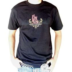 BodyPUNKS! SoCAL Los Angeles Skyline Black T-shirt