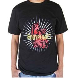 BodyPUNKS! Pumping Heart Black Tee