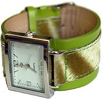 UrbanPUNK The Muni Watch in Lime Green
