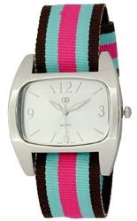 UrbanPUNK Sunday Picnic Watch in Black/Blue/Pink