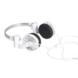 Pick-up Headphones in White by WeSC