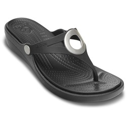 Crocs - Women Sanrah Wedge Flip-flop Women Shoes