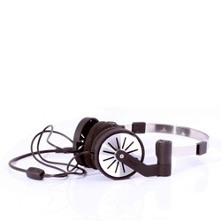 Pick Up Stereo Headphones in Black by WeSC