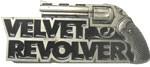 VELVET REVOLVER buckle (Black and Silver Grey)