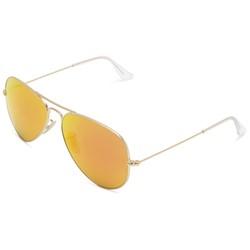 Ray-Ban - Mens Aviator Sunglasses in Matte Gold, Eye Size: 58mm