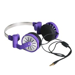 Pick-up Headphones in Prism Violette by WeSC