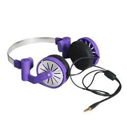 Pick-up Headphones in Prism Violette by WeSC