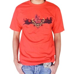 BodyPUNKS! SoCAL Los Angeles Skyline Red Tee
