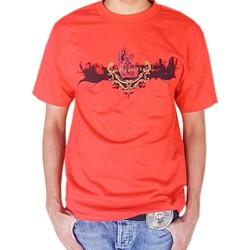 BodyPUNKS! SoCAL Los Angeles Skyline Red Tee