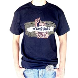 BodyPUNKS! Radiowave Black Tee