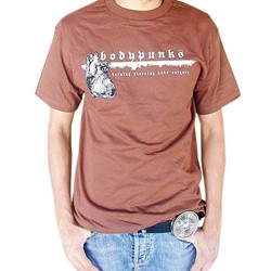 BodyPUNKS! Loyalty Brown Tee
