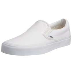 Vans - Unisex Adult Classic Slip-On Shoes In True White