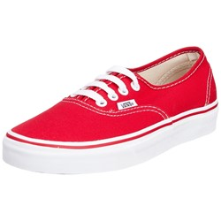 Vans - U Authentic Shoes In Red