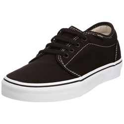 Vans - U 106 Vulcanized Shoes In Black/White