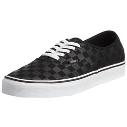 Vans - U Authentic Shoes In Black/Black Checkered