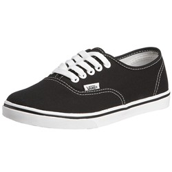 Vans - U Authentic Lo Pro Shoes In Black/True White