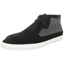 Vans - Mens M Rata Mid Shoes In Black/Turtle Dove