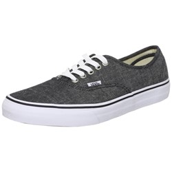 Vans - Unisex Authentic Shoes In Classic Canvas Black