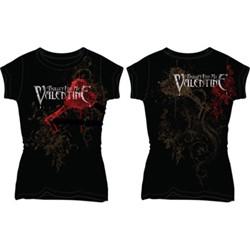 Bullet For My Valentine Pierced Through Juniors T-Shirt
