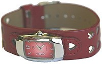 UrbanPUNK Heart Catcher Watch in Red
