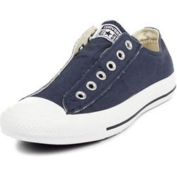 Converse Chuck Taylor Slip On Shoes in Navy (1T156)
