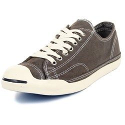 Converse Jack Purcel LP II Shoes in Grey/Off White