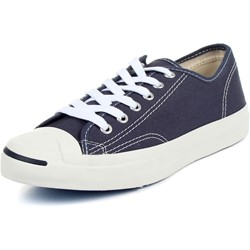 Converse Jack Purcel CP OX Low Top Shoes in Navy/White