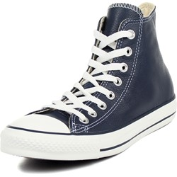 Converse - Leather Chuck Taylor AS HI Shoes in Athletic Navy
