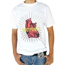 BodyPUNKS! Pumping Heart White Tee