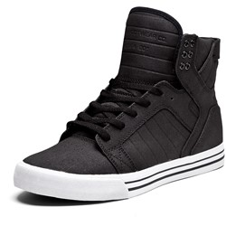 Supra - Mens Skytop High Top Shoes in Black