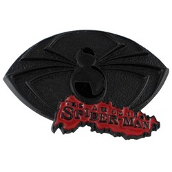 Amazing Spiderman 3 Powdercoat Belt Buckle