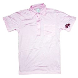BodyPunks Heart Embroidered American Apparel Adult Polo T-shirt