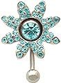 Jeweled Sunflower Charm for Navel Rings