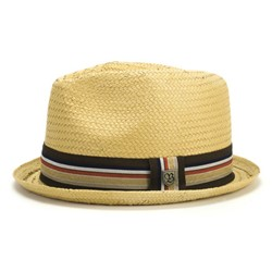 Castor Straw Hat in Tan by Brixton