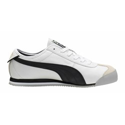 Puma Roma 68 Vintage Shoes In White Black