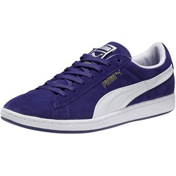 Puma Supersuede Womens Shoes in Clematis Blue/White